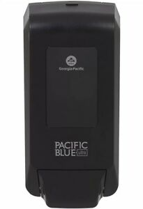 New Pacific Blue Ultra Manual Commercial Soap Dispenser Black 53057p 6 Pack