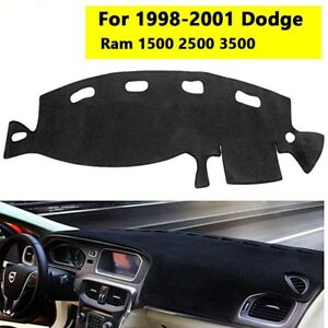 Fits For 1998 2001 Dodge Ram 1500 2500 3500 Truck Dash Cover Mat Dashboard Pad