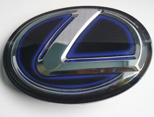 New Blue For Lexus Emblem Front Grille Grill Logo F Sport Is250 Gs350 Hybrid Nx