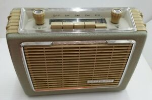Vintage Blaupunkt Derby Portable Picnic And Car Radio Vw Porsche Mercedes