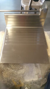 Hobart Slicer Meat Tray All Stainless Steel Construction With Locking Knob