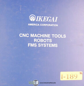 Ikegai Ax25 Lathe T 1814 Electric Diagrams And Parts Manual 1955