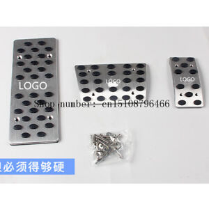 Footrest Pedal Plate Pads For Toyota Land Cruiser 200 At For Automatic Cars New