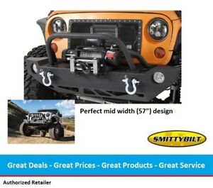 Smittybilt Src Carbine Front Bumper For Jeep Jk Wrangler 2 4 Door