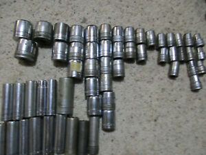 Early S k Tools Sk 1 2 Drive Socket lot Sae Deep And Standard
