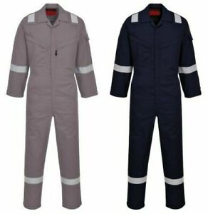 Portwest Uaf73 Araflame Nfpa 2112 Flame Resistant Anti static Coverall