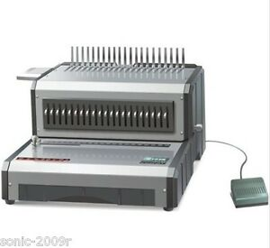 Heavy Duty Electric Plastic Comb Binding Machine Usg