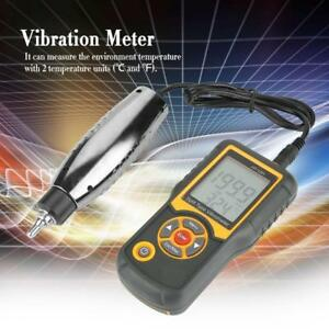 Digital Precision Split Type Vibration Meter Tester Vibrometer Sensor Gauge