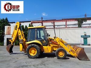 Jcb 214 Backhoe 4x4 Enclosed Cab Extendahoe