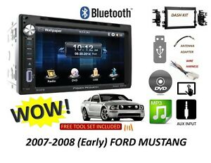 2007 2008 Early Ford Mustang Bluetooth Touchscreen Dvd Cd Usb Car Radio Stereo
