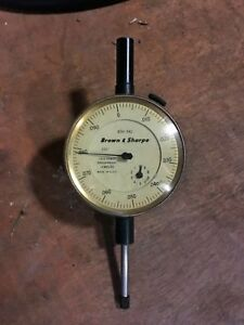 Brown And Sharp Dial Indicator 8241 942 Used