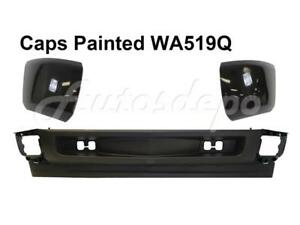 Painted Wa519q Front Bumper Caps Lower Valance For Silverado 1500 2008 2010