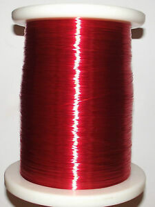 Polyurethane Enameled Copper Wire Magnet Wire 2uew 155 1mm Red a40t Lw