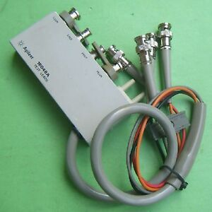 1pc Used Good Agilent 16048a Test Lead Bnc Connector ex g By Dhl Or Ems Gy