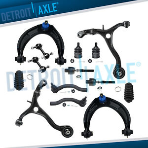 14pc Front Upper Lower Control Arm Suspension Kit 2008 2009 2012 Honda Accord