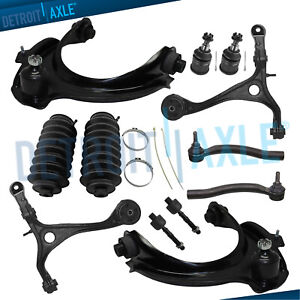 12pc Front Upper Lower Control Arm Kit For 2003 2004 2005 Honda Accord 3 0l