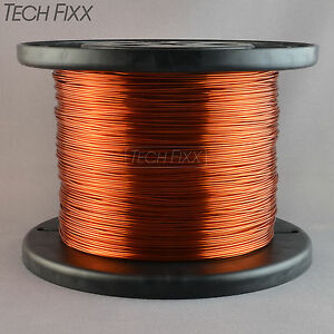 Magnet Wire 18 Gauge Enameled Copper 1220 Feet Coil Winding 6 13 Lbs Essex 200c