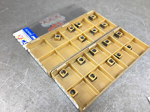 Iscar Htp Lnht 0604 Er Ic810 Carbide Insert Lot Of 17