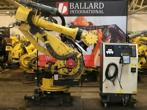Fanuc M 900ia 350 Robot System W R30ia Controller Complete System
