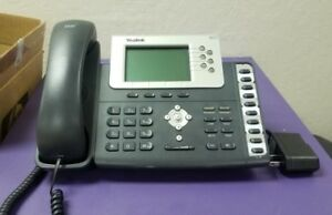 Lot Of 5 Yealink Sip t28p Enterprise Ip Business Office Phone 6 Line