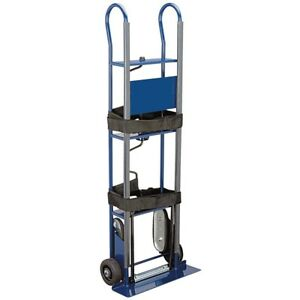 600 Lb Capacity Appliance Hand Truck Solid Rubber Wheels