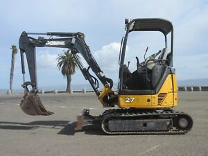 2011 John Deere 27d Mini Excavators