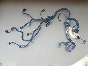 2003 2004 Mustang 4 6 Svt Cobra Engine Computer Wire Harness Sku Y332