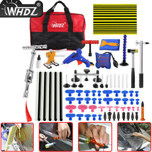 80x Pdr Tool Paintless Dent Repair Pulling Birdge Hail Damage Removal Line Board
