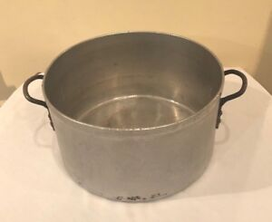 Steel Stock Pots And Storage Containers 40 Quarts Extra Heavy Duty