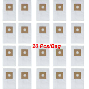 20x Dentist Use Replacement Filter Bag For Dental Dust Collector Vacuum Cleaner