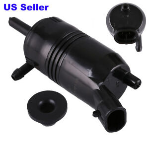 Windshield Washer Pump For Gmc Chevrolet Buick Cadillac Isuzu Pontiac Grommet