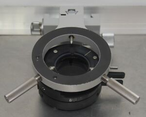 Zeiss Microscope Substage Condenser Carrier With Polarization