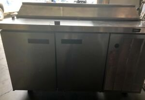 Used Delfield F18rc55 55 Refrigerated Prep Table