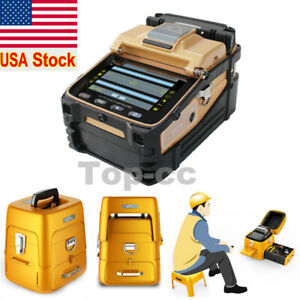 Sm mm Automatic Fiber Optic Splicing Machine Fusion Splicer Kit Cleaver ai 8