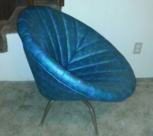 Mid Century Modern Furniture Chair Original Clam Swivel Saucer Chair Retro