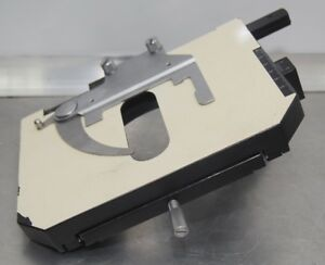 Olympus Bh2 Microscope Stage With Slide Clip