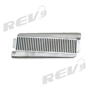 Rev9 Universal Type Z Turbo Intercooler Aluminum 500hp Bar And Plate High Flow