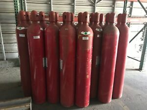 Ansul 100 Lbs Co2 Fire Extinguisher Tank Cylinder Suppression System Bottle Full