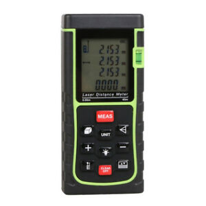 Laser Rangefinder Measure Handheld Digital Distance Meter Electric Gauge Z3y0h