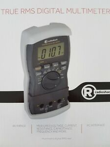 New In The Box Radioshack 2200087 True Rms Digital Multimeter Collectors Item