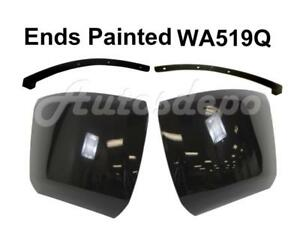 Painted Wa519q Front Bumper End Outer Filler For Chevy Silverado 1500 2008 2010
