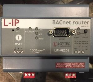 Loytec Lip me201 Bacnet ip Router