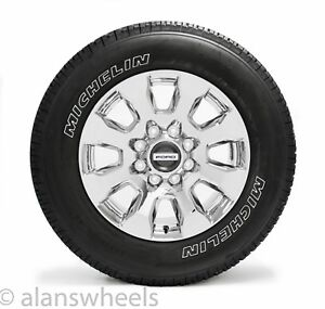 New 2018 Ford F250 Super Duty 20 Factory Oem Chrome Wheels Rims Michelin Tires