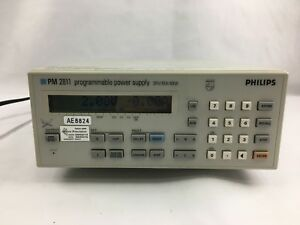 Fluke Phillips Pm2811 60w Power Supply 30volts At 10 Amps W Gpib