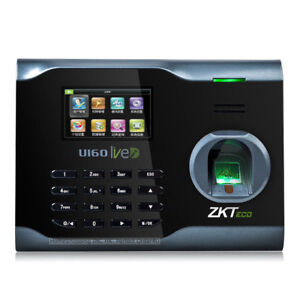 Biometric Fingerprint Attendance Time Clock Wifi tcp ip usb Zksoftware Brand