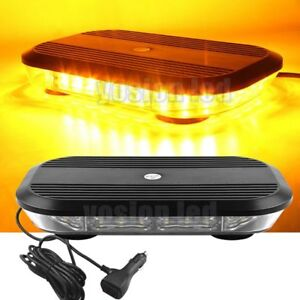 12 30 Led Emergency Warning Lights 90w Beacon Vehicle Roof Lights Strobe Amber