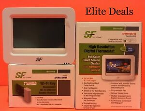 Bundle Deal Start To Finish Sfthrtsh742 Color Wi fi Thermostat W wi fi Key