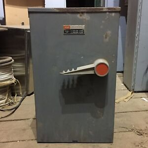 Federal Pacific Manual Switch 200A 600V DTQ5436 $370.00