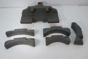 Used Hossfeld 50 Outbend Master And Radius Block Set For Model 1
