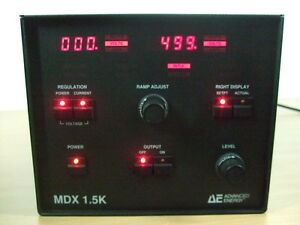 Ae Advanced Energy Mdx 1 5k Magnetron Sputtering Dc Power Supply 500v 3a